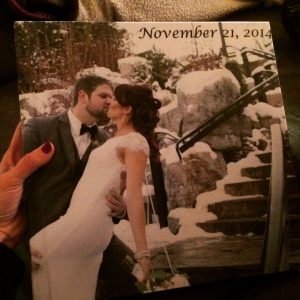 our wedding album!